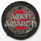 Amon Amarth - 'Round Logo' Woven Patch